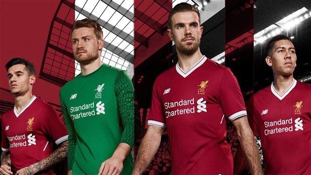 Liverpool predstavio novi dres za sezonu 2017/18