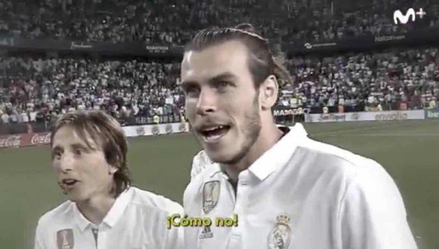 VIDEO: Pogledajte kako su Luka Modrić i Gareth Bale ostali zbunjeni nakon osvajanja La Lige