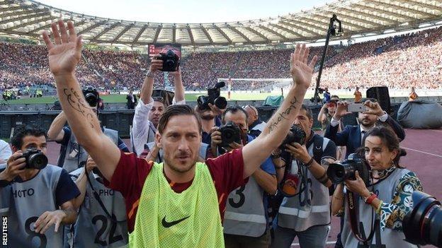 Totti je odigrao posljednju utakmicu u dresu Rome!