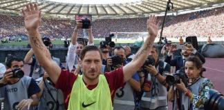 Totti je odigrao posljednju utakmicu