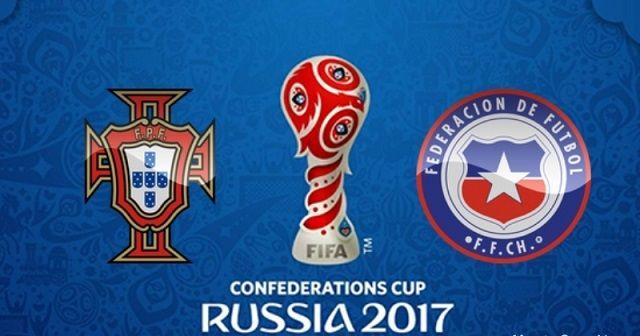 Portugal v Čile: Polufinale Kupa konfederacija