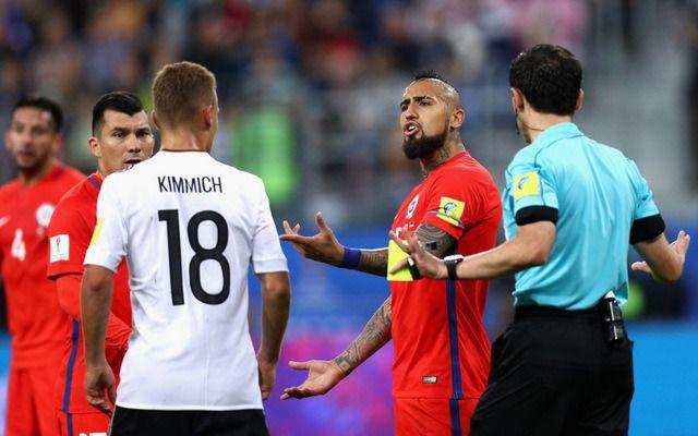 Arturo Vidal otkrio šta je rekao Kimmichu u finalu Kupa konfederacija