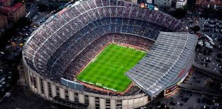 Barcelona pristala