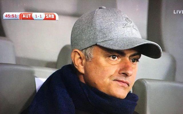 U porazu Srbije od Austrije, Jose Mourinho pratio mladog srpskog reprezentativca
