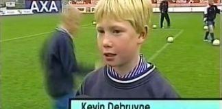 14-godišnji De Bruyne
