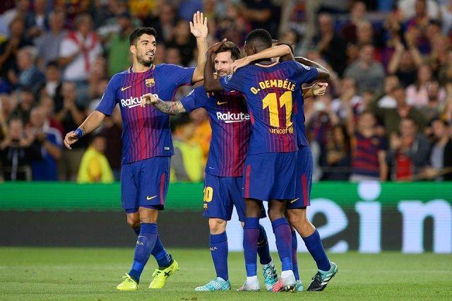 Prvo pojačanje Barcelone