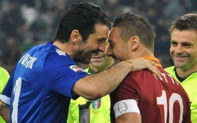 "Buffon slavi 40. rođendan, a Totti ima originalan ""poklon"" za njega"