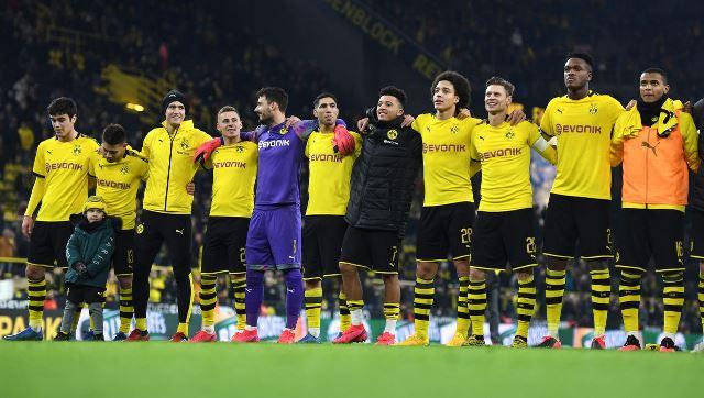 sjajna gesta igrača Dortmunda