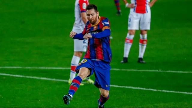 Lionel Messi nije postigao