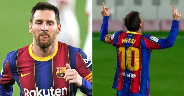 Barcelona ponudila Messiju