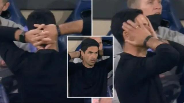 Reakcija Mikela Artete