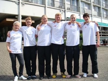 Guðrun, Mona, Elspa, Kári, Pál og Dánjal Martin