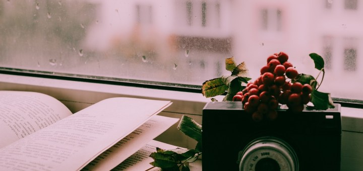 Book Camera Window Rain  - ymkaaaaaa / Pixabay