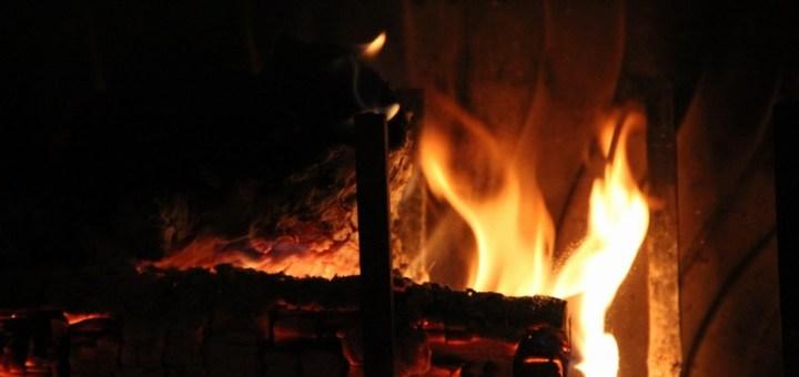 Fire Fireplace Hot Heat Flame