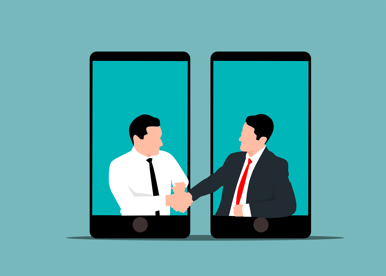 Online Meeting Virtual Agreement  - mohamed_hassan / Pixabay