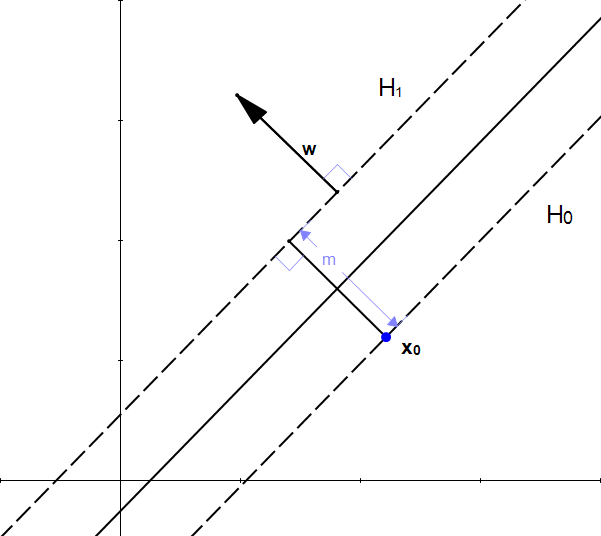 Figure 11: w is perpendicular to H1