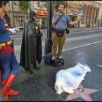 8158 – Superman, Batman, Jesusman and the problem of the corpse on Hollywood Blvd.