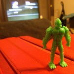 gill man from whistle candy