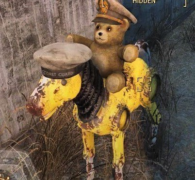 Fallout 4 has great teddy scenes. #giddyupbuttercup https://t.co/7JYaUtrIda https://t.co/CoOhSgOBXp