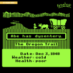 In 1971, three student teachers made The Oregon Trail to teach their 8th grade classes about pioneer life