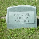 Rest in peace, Jane Northup