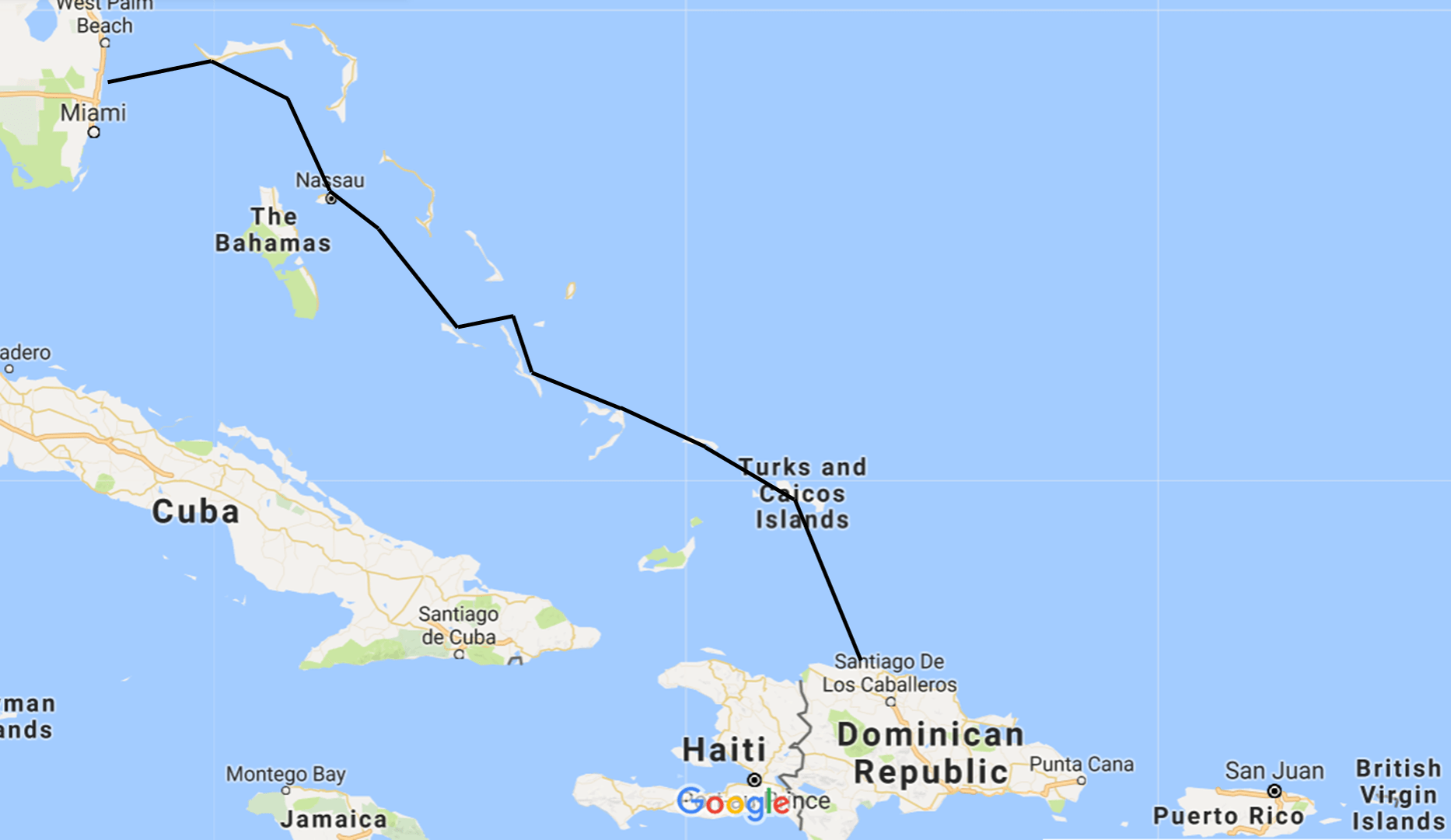 FLL to DR Map