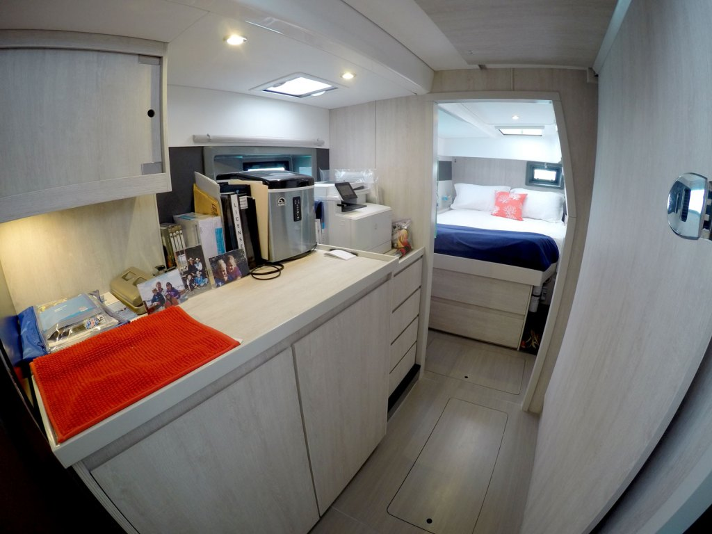 Owners Cabin facing the stern