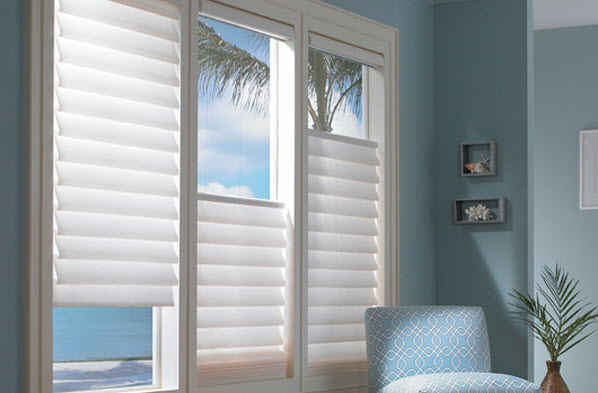 vertical blinds and horizontal blinds good choice for patio doors and large windows superior view shutters shade blinds ca il