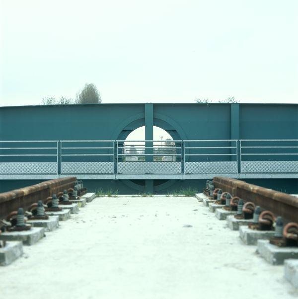 Spoorwegbrug Plassendale, Oostende