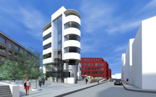 QUARTIER ZUIDPOORT<br><span style='color:#31495a;font-size:12px;'>Bureaux, hôtel (phase 3)</span>