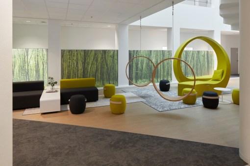 PROCTER & GAMBLE BRUXELLES<br><span style='color:#31495a;font-size:12px;'>N&P immeuble de bureaux, accueil et salon des consommateurs Brussels Innovation Centre (BIC)</span>