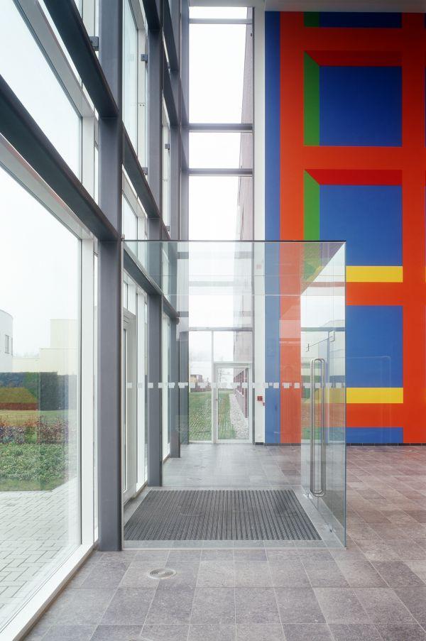 Nieuwbouw laboratorium en opslag Barc-Cri Gent, laboproject en logistiek gebouw SVR-ARCHITECTS
