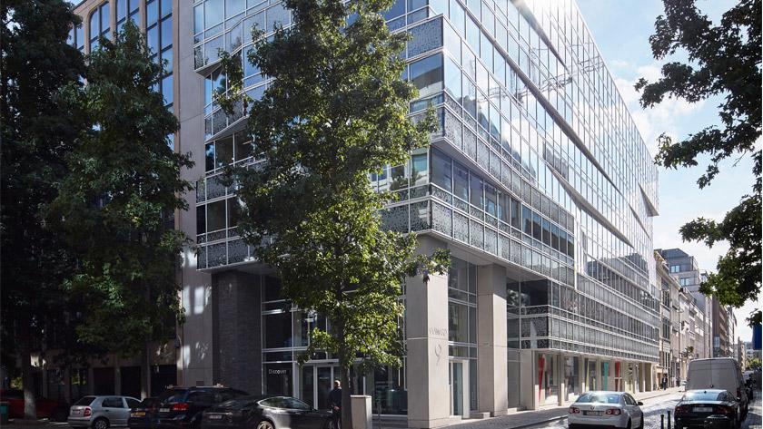 Kantoorgebouw Befimmo Guimard 9, Brussel