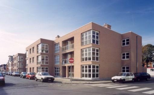 WOONHAVEN ANTWERPEN CVBA<br><span style='color:#31495a;font-size:12px;'>Apartments for social housing Bosschaertstraat / Hendriklei / A. De Cockstraat / Van Craesbeeckstraat</span>