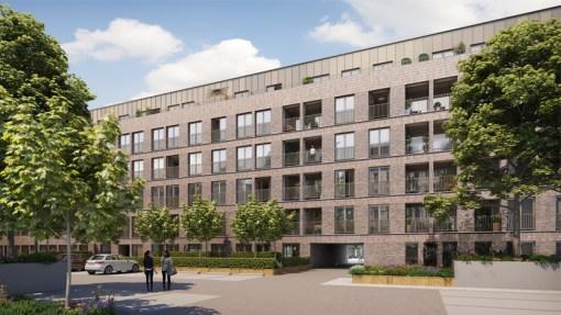 CORES CRELAN<br><span style='color:#31495a;font-size:12px;'>Residential housing, Van Schoonbekestraat (block C&D), underground car park </span>