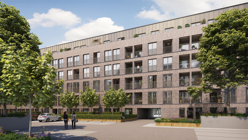 Projet résidentiels 14, Van Schoonbeke  | Anvers