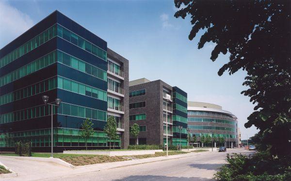 Nieuwbouw kantorenpark Rubens, Antwerpen, kantoorgebouw SVR-ARCHITECTS