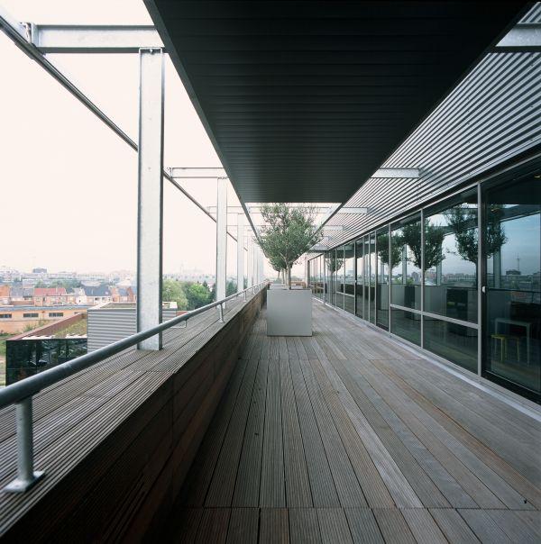Nieuwbouw kantoorgebouw de Lijn Mechelen, kantoorgebouw SVR-ARCHITECTS