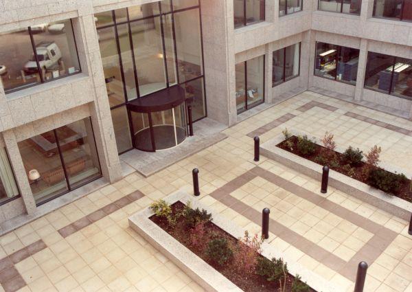 Nieuwbouw hoofdzetel Dow Corning, Ter Hulpen, kantoorgebouw SVR-ARCHITECTS