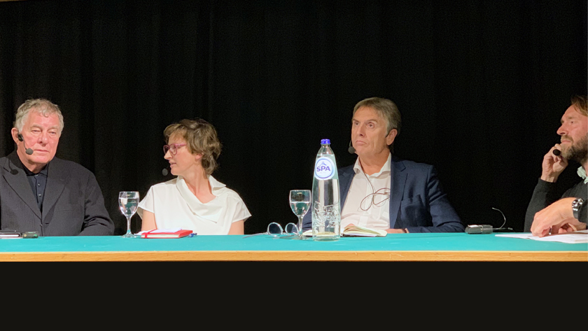 Debat drawing attention | Gent