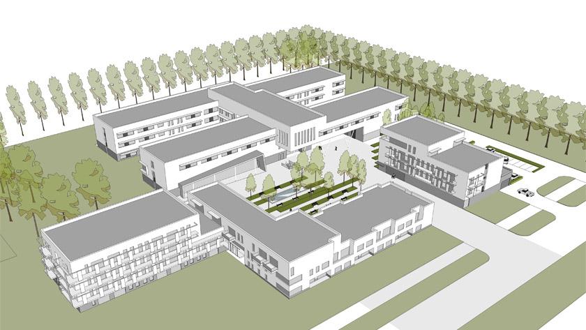 Pose de la première pierre du nouveau campus de soins