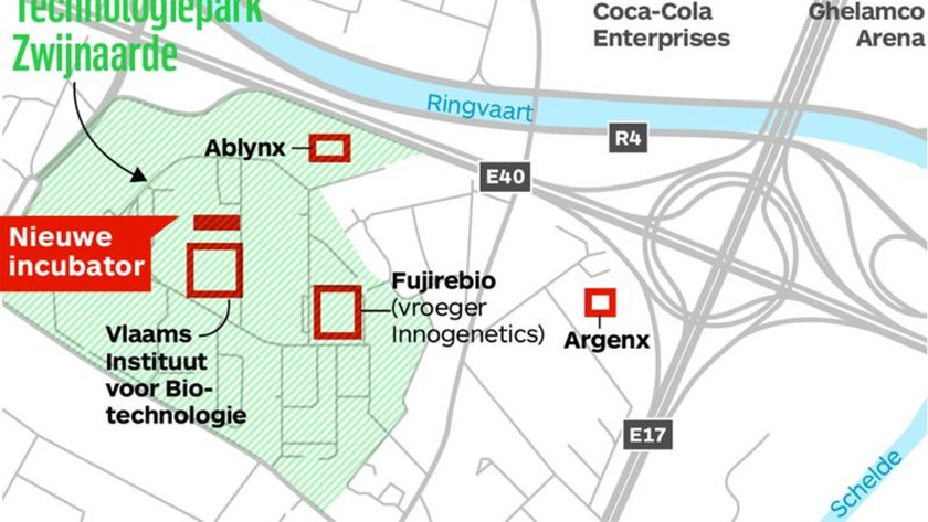 Gent krijgt extra incubator voor Biotechbedrijven