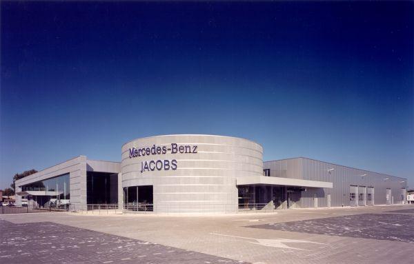 Mercedes-Benz Jacobs, Business premises, offices, interior