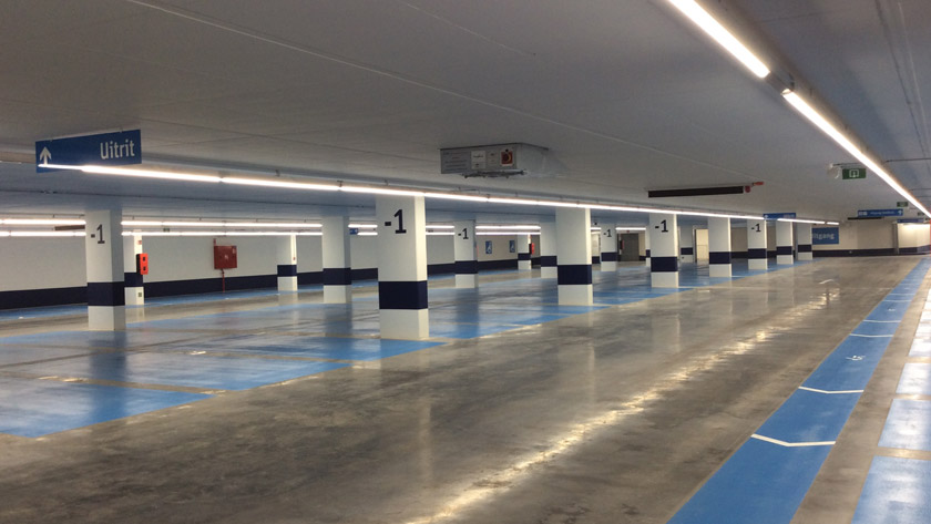 Ondergrondse parking Vilvoorde