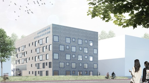 CATHOLIC UNIVERSITY OF LEUVEN<br><span style='color:#31495a;font-size:12px;'>Arenberg Accelerator (Bio-incubator 4)</span>