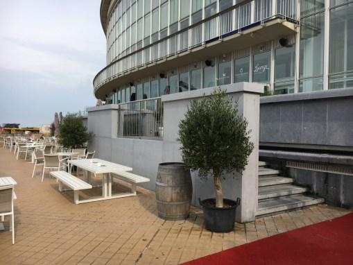 CASINO KURSAAL<br><span style='color:#31495a;font-size:12px;'>Renovatie bestaande sokkel / Nieuwe trap Westgevel </span>