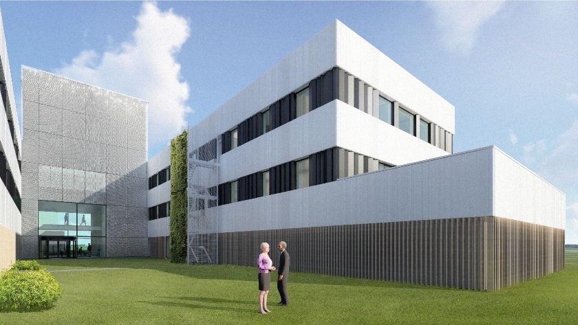 Research building and Donorcentre Red Cross UZA | Edegem