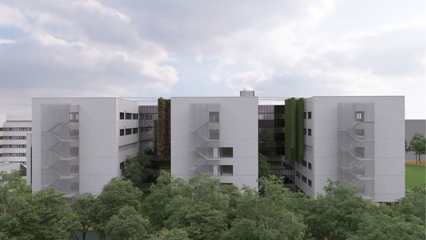 University Hospital Antwerp (UZA) becomes 40 and gives itself a new hospital wing as a gift.