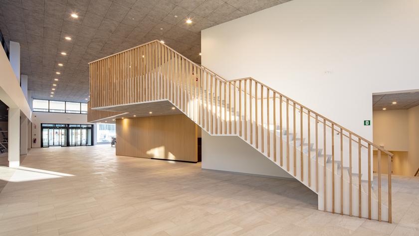 Uitbreiding Aula Major, renovatie en interieur Aula F.  Nedée  | Universiteit Antwerpen | Wilrijk