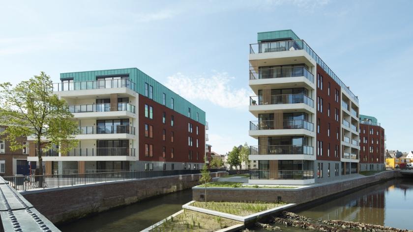 Architecturale zonwering voor DijleDelta project Leuven